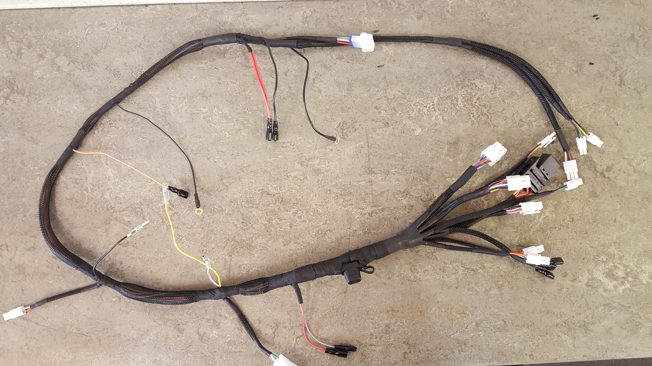 Wondrous Ccm 604 Main Wiring Harness Sportax Racing Wiring 101 Vieworaxxcnl